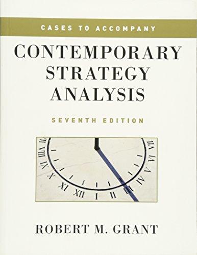 9780470686331: Cases to Accompany Contemporary Strategy Analysis