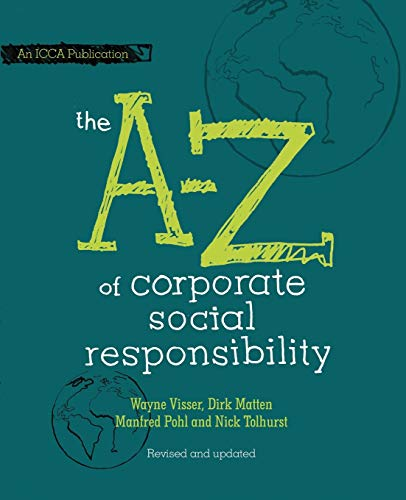 9780470686508: The A to Z of Corporate Social Responsibility