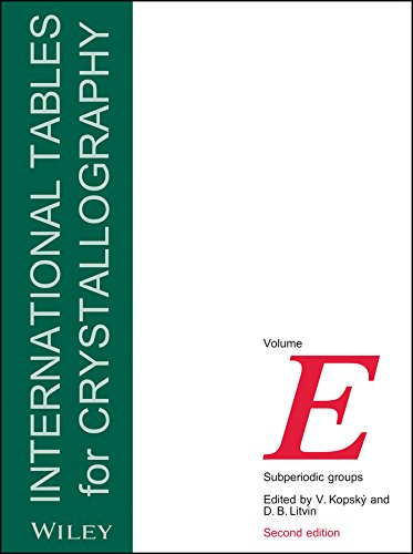 9780470686720: International Tables for Crystallography, Subperiodic Groups (IUCr Series. International Tables for Crystallography)
