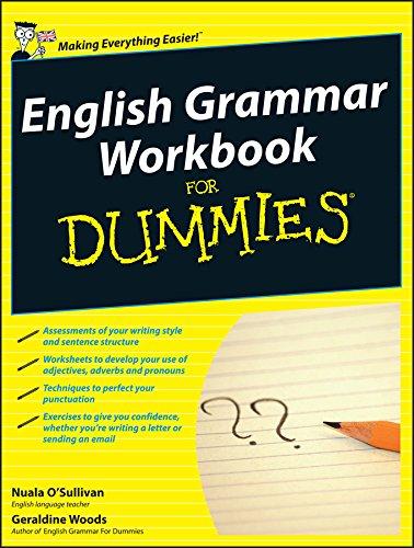 9780470688304: English Grammar Workbook For Dummies