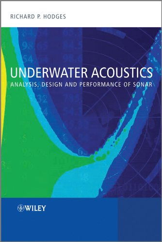 9780470688755: Underwater Acoustics: Analysis, Design and Performance of Sonar