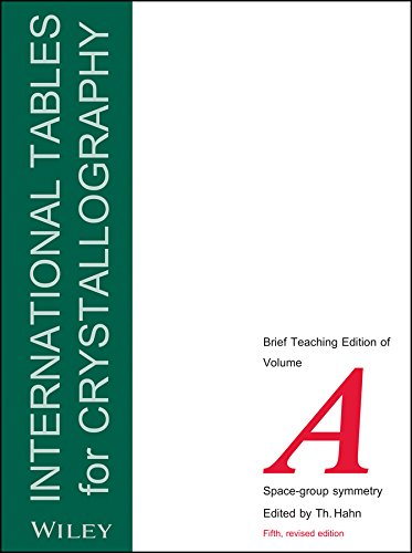 9780470689110: International Tables for Crystallography, Space Group Symmetry: Brief Teaching Edition