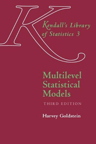 9780470689363: Multilevel Statistical Models