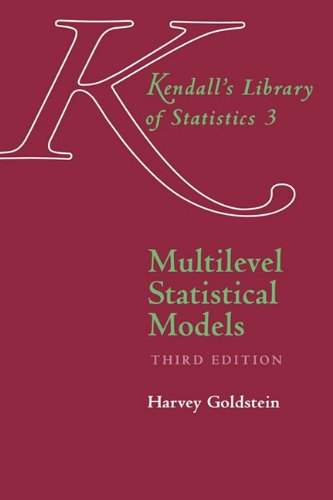 9780470689363: Multilevel Statistical Models