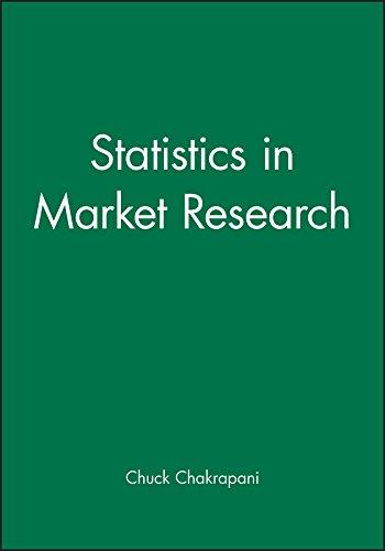 9780470689370: Statistics in Market Research