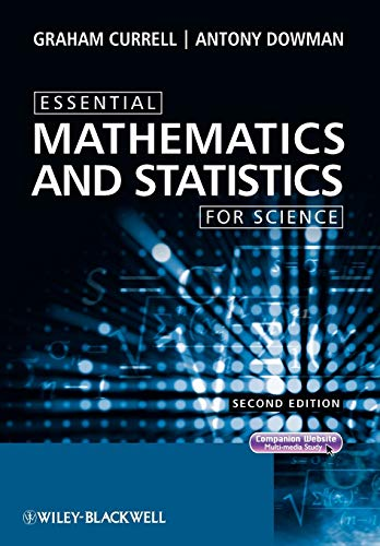 9780470694480: Essential Mathematics and Statistics for Science