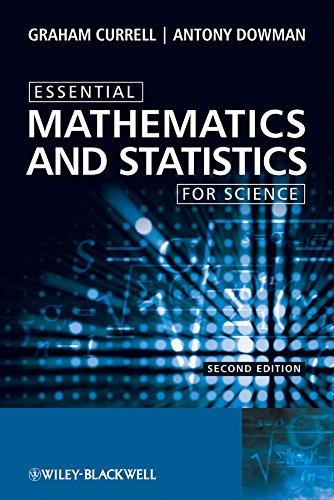 9780470694497: Essential Mathematics and Statistics for Science