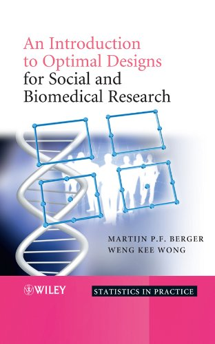 9780470694503: An Introduction to Optimal Designs for Social and Biomedical Research