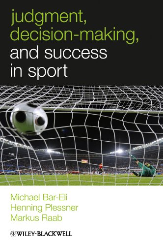 9780470694534: Judgment, Decision-making and Success in Sport (W-B Series in Sport and Exercise Psychology)