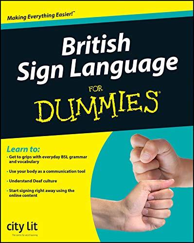 9780470694770: British Sign Language For Dummies