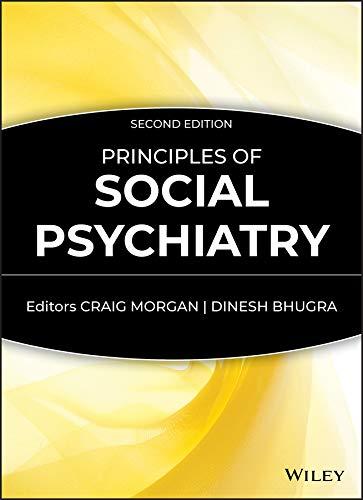 9780470697139: Principles of Social Psychiatry