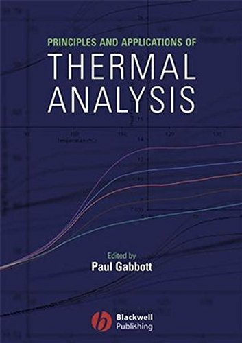 9780470698129: Principles and Applications of Thermal Analysis