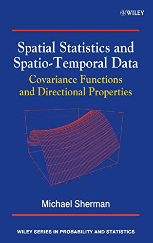 9780470699584: Spatial Statistics and Spatio-Temporal Data: Covariance Functions and Directional Properties