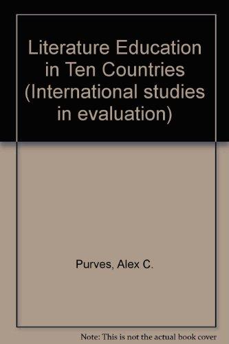 9780470702291: Literature Education in Ten Countries (International Studies in Evaluation II)