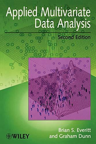 9780470711170: Applied Multivariate Data Analysis 2e