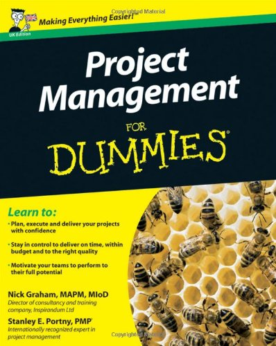 9780470711194: Project Management For Dummies (UK Edition)