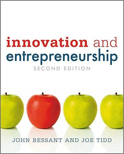 9780470711446: Innovation and Entrepreneurship