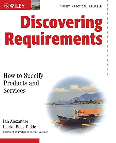 9780470712405: Discovering Requirements: How to Specify Products and Services
