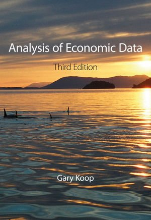9780470713891: Analysis of Economic Data