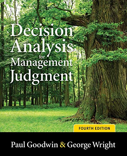 9780470714393: Decision Analysis for Management Judgment