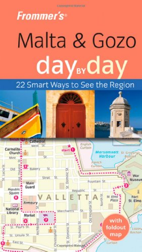 9780470715536: Frommer's Malta and Gozo Day by Day (Frommer's Day by Day - Pocket)