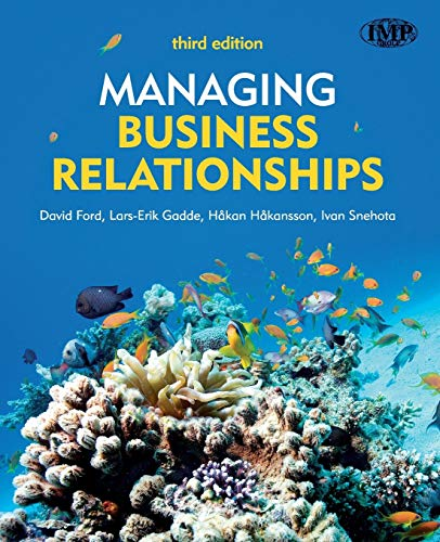 9780470721094: Managing Business Relationships