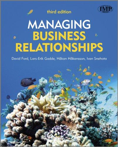 9780470721094: Managing Business Relationships