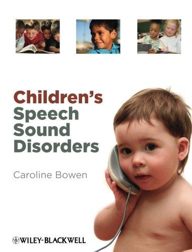 9780470723647: Children's Speech Sound Disorders