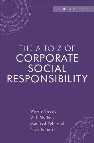 9780470723951: The A to Z of Corporate Social Responsibility: A Complete Reference Guide to Concepts, Codes and Organisations