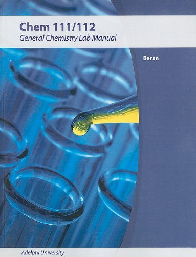 9780470731642: Laboratory Manual for Principles of General Chemistry 8th Edition for WCS (Wiley Custom Select)