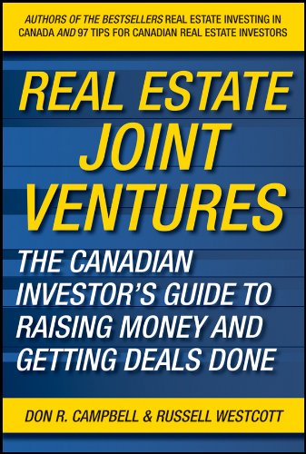 9780470737521: Real Estate Joint Ventures: The Canadian Investors Guide to Raising Money and Getting Deals Done