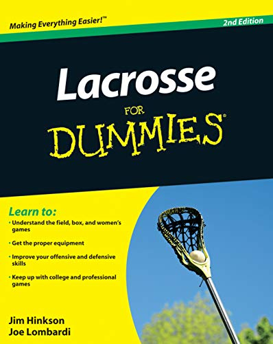9780470738559: Lacrosse for Dummies