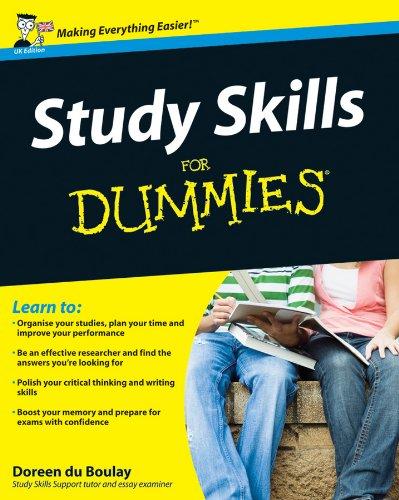 9780470740477: Study Skills for Dummies