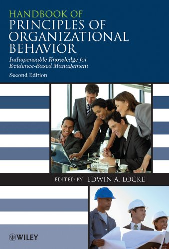 9780470740958: Handbook of Principles of Organizational Behavior: Indispensable Knowledge for Evidence-Based Management: A Handbook