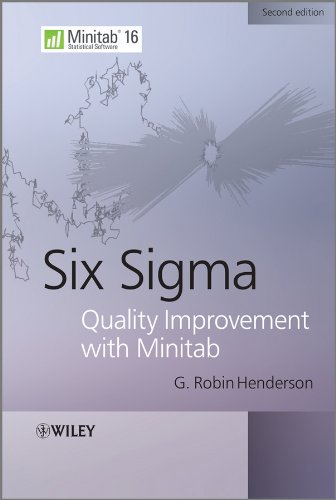 9780470741757: Six Sigma Quality Improvement with Minitab