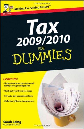 9780470743249: Tax For Dummies