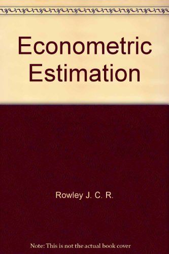 Econometric Estimation