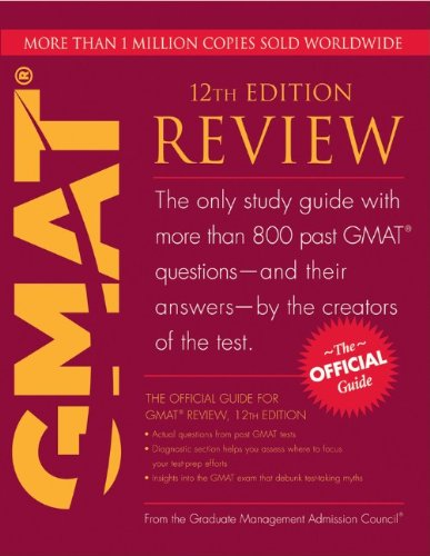 9780470744512: The Official Guide for GMAT Review