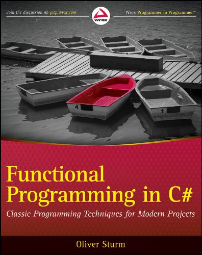 9780470744581: Functional Programming in C#: Classic Programming Techniques for Modern Projects