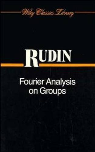 9780470744819: Fourier Analysis on Groups (Interscience Tracts in Pure & Applied Mathematics, Vol. 12)
