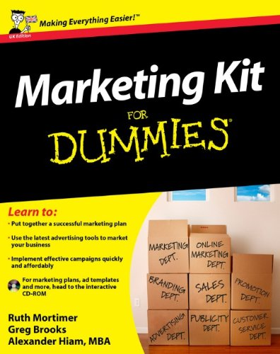 9780470744901: Marketing Kit For Dummies