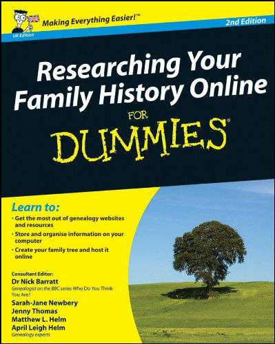9780470745359: Researching Your Family History Online For Dummies, 2nd Edition (UK Edition)