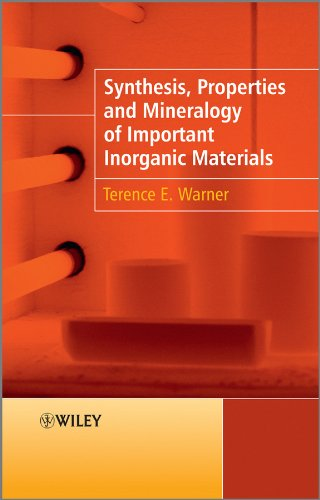 9780470746110: Synthesis, Properties and Mineralogy of Important Inorganic Materials