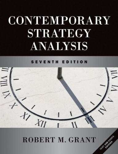 9780470747094: Contemporary Strategy Analysis and Cases: Text and Cases