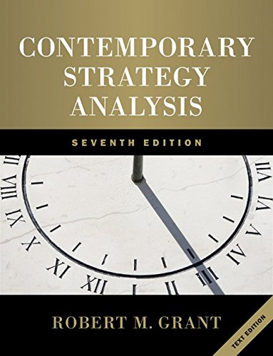 9780470747100: Contemporary Strategy Analysis: Text Only