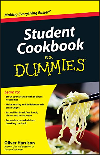 9780470747117: Student Cookbook For Dummies
