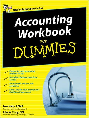9780470747162: Accounting Workbook For Dummies