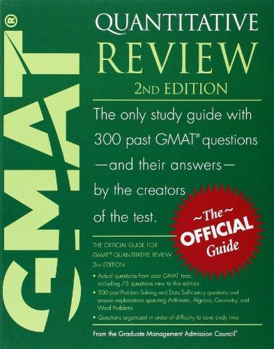 9780470747445: GMAT Quantitative Review
