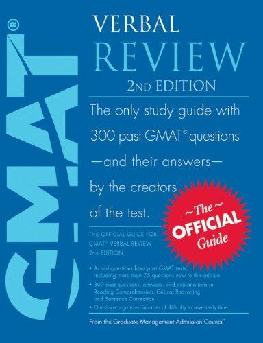 9780470747452: GMAT Verbal Review