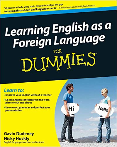 9780470747476: Learning English as a Foreign Language For Dummies